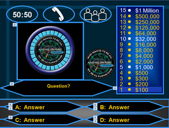 Who Wants to be a Millionaire: Answernaire