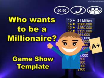 Who Wants to be a Millionaire Game Show Template