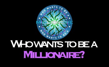 Who Wants to be a Millionaire: Geometry Edition