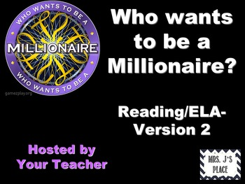 Who Wants to be a Millionaire- Literacy Review 2