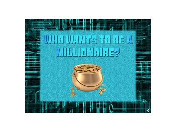 Who Wants to be a Millionaire Review for Probability, Data