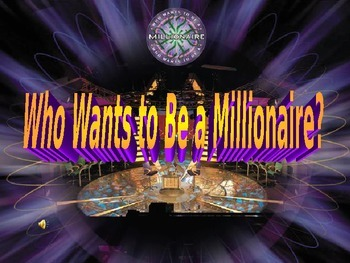 Who Wants to be a Millionaire? Road to  the Civil War  Review Game
