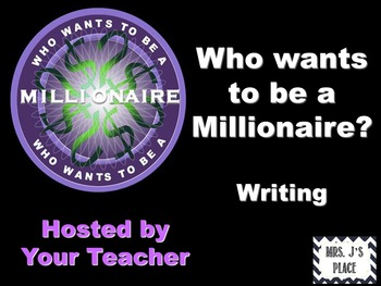 Who Wants to be a Millionaire- Writing Review