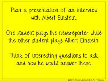 Who Was Albert Einstein? Complete Literary Unit for Promethean Board Use