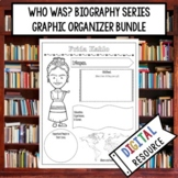 Who Was Biography Graphic Organizer Bundle   Digital Biogr