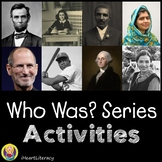 Who Was Biography Series Activities for Any Book