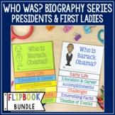 Who Was Biography Series Flip Books Bundle - Presidents an