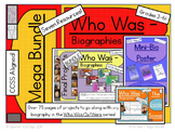 *MEGA BUNDLE* - Who Was Biography Series