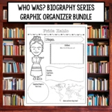 Who Was Biography Series Research Graphic Organizer Bundle