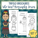 Who Was Biography Series Trifold Brochures Set 1