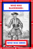 Who Was Blackbeard? Book Unit