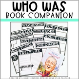 Who Was Book Companion (PAPER & DIGITAL OPTION)