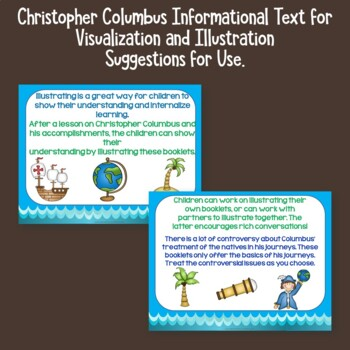 Christopher Columbus   Informational Text for Visualization and Illustration