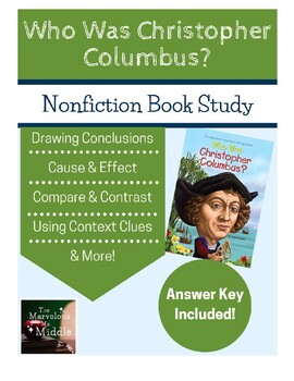 Who Was Christopher Columbus? Book Study