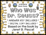 Who Was Dr. Seuss? (Janet B. Pascal) Book Study / Comprehension (29 pages)
