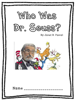 Who Was Dr. Seuss? by Janet B. Pascal