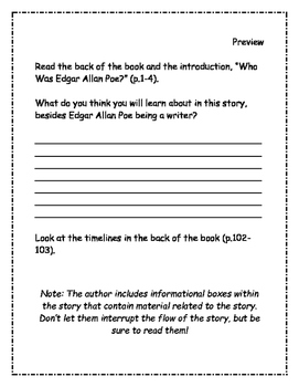 Who Was Edgar Allan Poe? Comprehension Packet