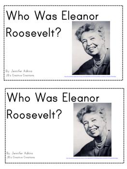 Who Was Eleanor Roosevelt? Mini Reader