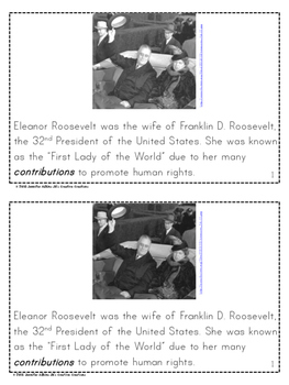 Who Was Eleanor Roosevelt? Mini Reader