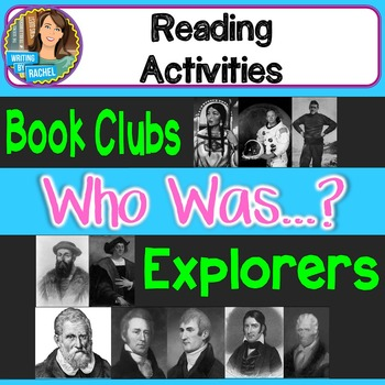 Who Was? Biography Series Explorers Books Book Club Activities