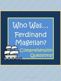 Who Was... Ferdinand Magellan Biography by Kramer Comprehension Worksheets