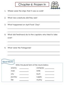 Who Was... Ferdinand Magellan Biography by Kramer Comprehension Worksheets
