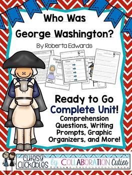 Who Was George Washington? Nonfiction Biography Literature