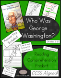 Who Was George Washington? - Reading Comprehension Packet