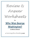 Who Was George Washington Study Guide