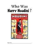 Who Was Harry Houdini Novel Study