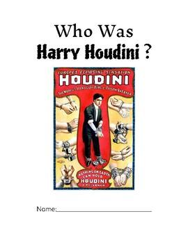 Who Was Harry Houdini Novel Study