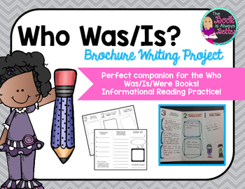 Who Was/Is Books: A Brochure Writing Project