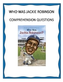 Who Was Jackie Robinson? Comprehension Questions