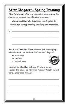 Who Was Jackie Robinson? (Gail Herman) Book Study / Comprehension (34 pages)