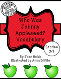 Who Was Johnny Appleseed? Vocabulary