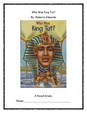 Who Was King Tut? Novel Study