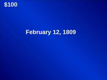 Who Was Lincoln Jeopardy