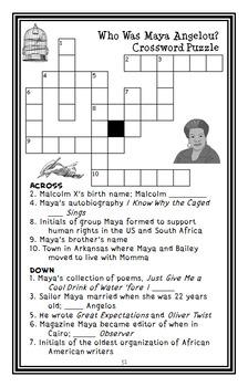 Who Was Maya Angelou? (Ellen Labrecque) Book Study / Comprehension  (31 pages)
