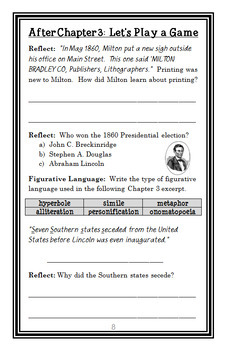 Who Was Milton Bradley? (Kirsten Anderson) Book Study / Comprehension (26 pages)