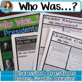 Who Was? Biography Series Presidents Book Club Activities