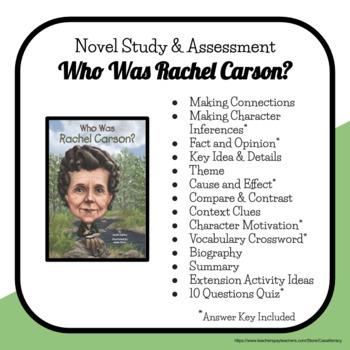 Who Was Rachel Carson? - Literacy Unit