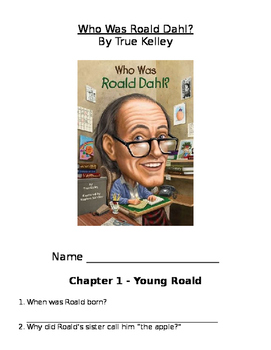 Who Was Roald Dahl Comprehension Questions