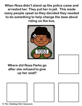 Who Was Rosa Parks? An Adapted Biography Book