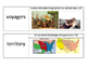 Who Was Sacagawea? Vocabulary Cards