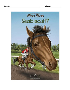 Who Was Seabiscuit? Level 1 Workbook