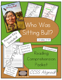 Who Was Sitting Bull? - Reading Comprehension Packet