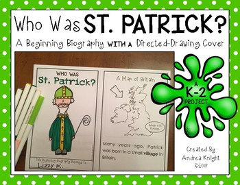 Who Was St. Patrick?  {A Beginning Biography Project for St. Patrick's Day}
