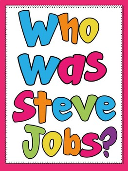 Who Was Steve Jobs? Chapter-by-Chapter Guided Reading Disc