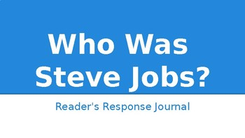 Who Was Steve Jobs? Question Stems