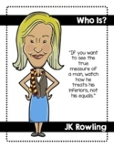 Who Was? Themed Famous People Quotes Posters & Pick a Person Cards
